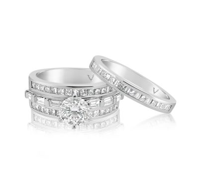 Engagement and Wedding Set
